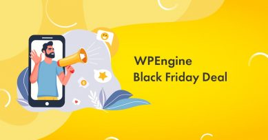 WPEngine Black Friday 2019 Massive Deal [Live]: Get 5 Months Hosting FREE!