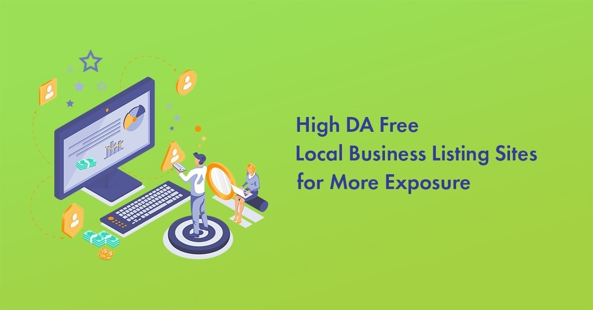 FREE local listing sites list