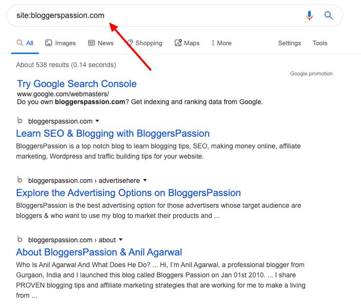 google search bp