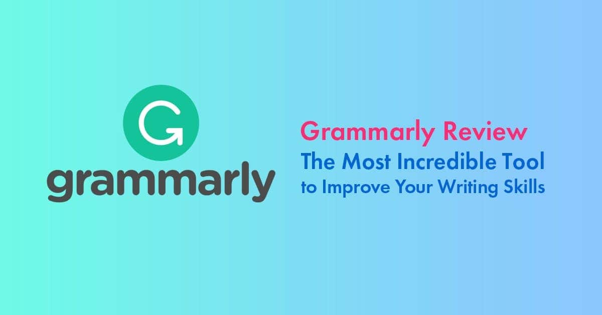 Grammarly Proofreading Software Preview