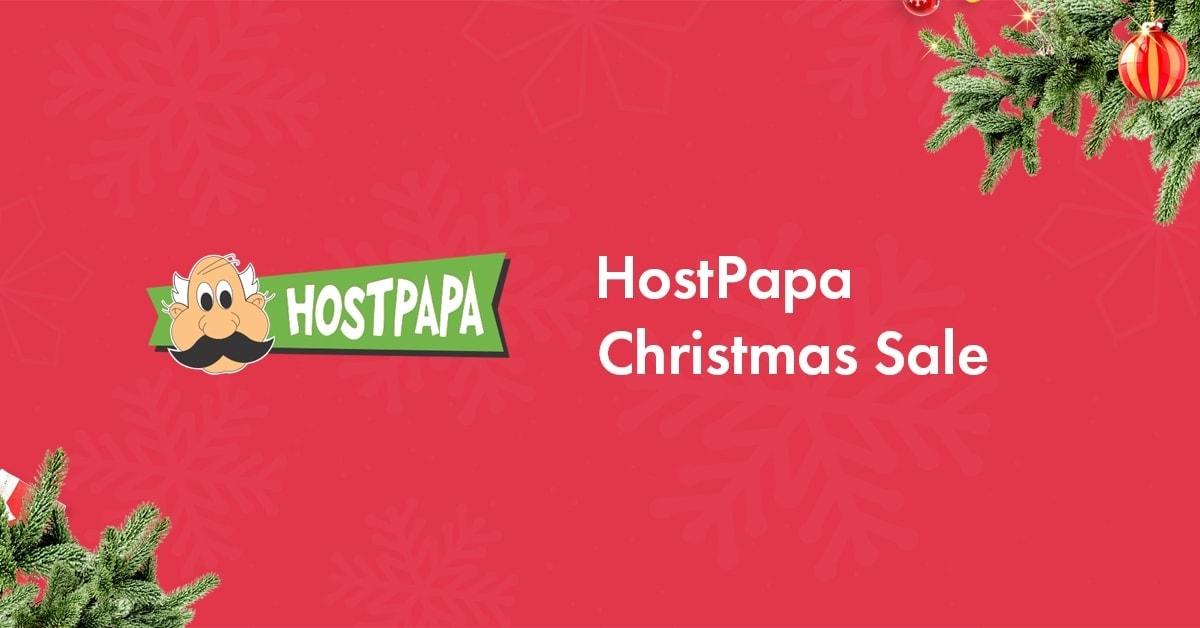 HostPapa Christmas Sale 2019: Get Hosting for <img src=