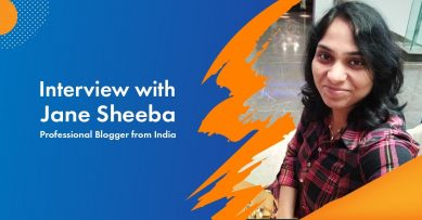 Interview with Jane Sheeba, Professional Blogger from Janesheeba.com