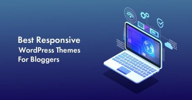 Top 10 Responsive WordPress Themes For Bloggers