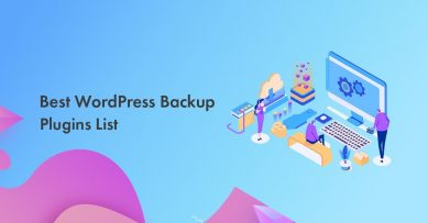 Top 5 Best WordPress Backup Plugins To Use in 2020