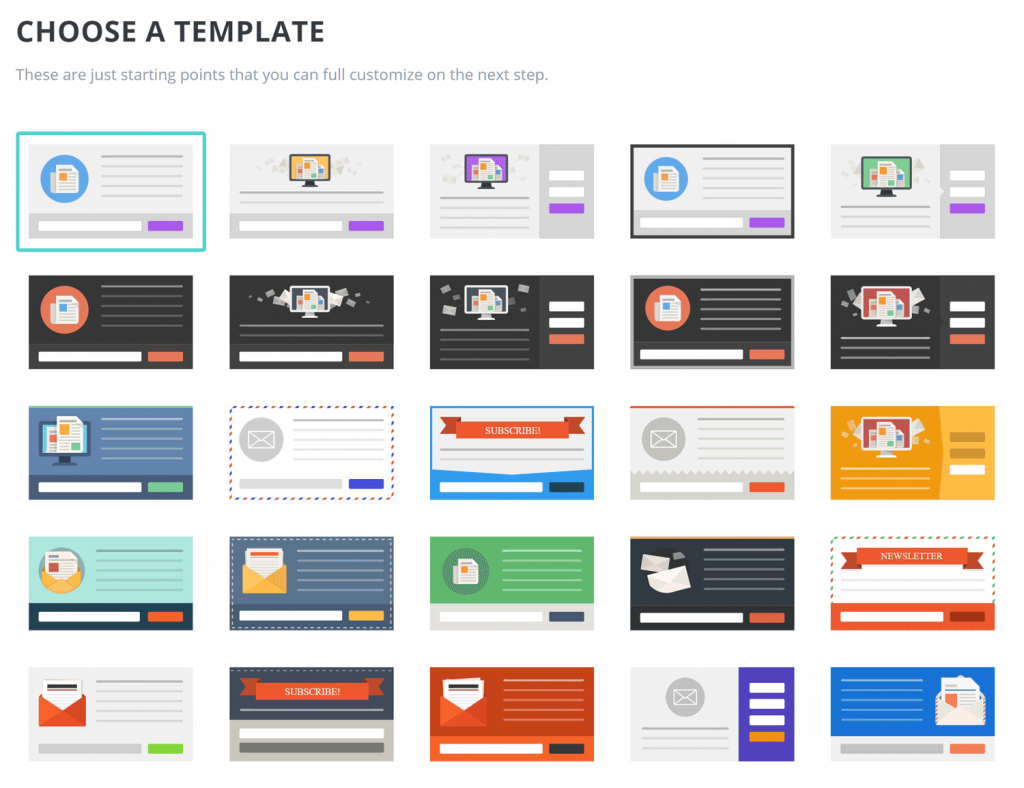 Bloom plugin templates