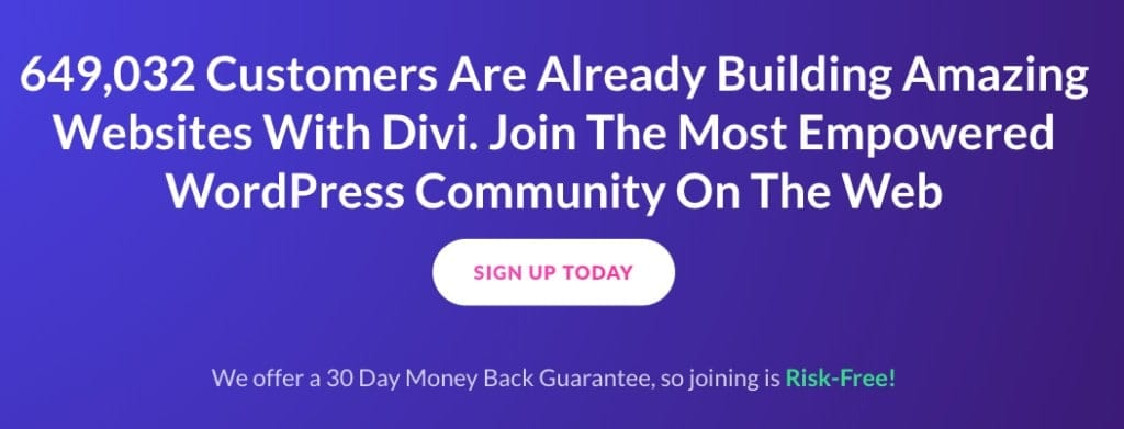divi customers