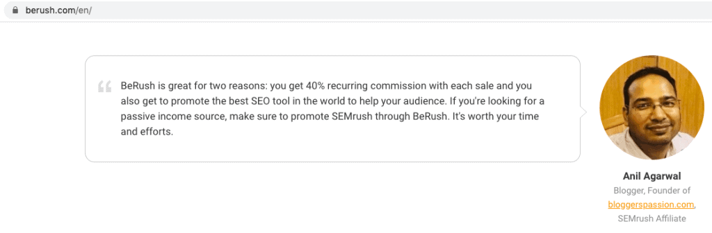 berush featured