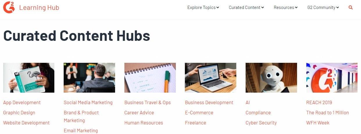 g2 learning hub