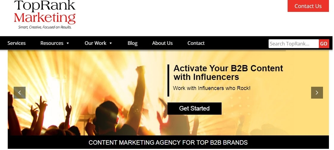 top ranking marketing