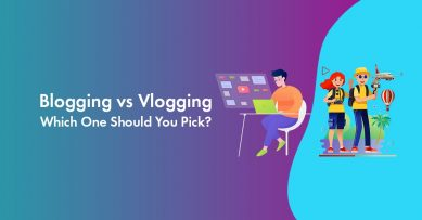 Blog vs Vlog