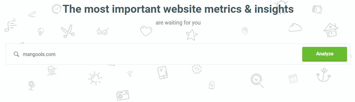 mangools siteprofiler