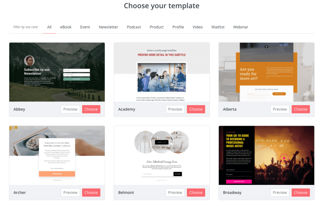 convertkit templates