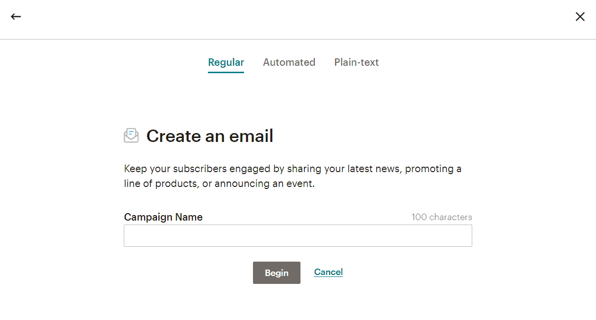 mailchimp emails