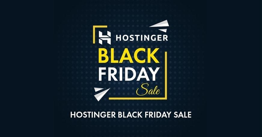 Hostinger Black Friday 2020 Sale