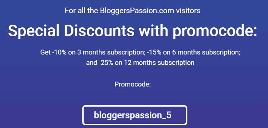 serpstat bloggerspassion landing page