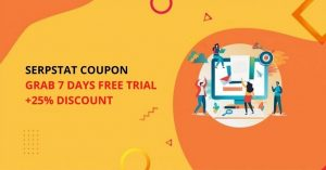 Serpstat Coupon Code 2020: Grab 7 Days Free Trial + 25% Discount
