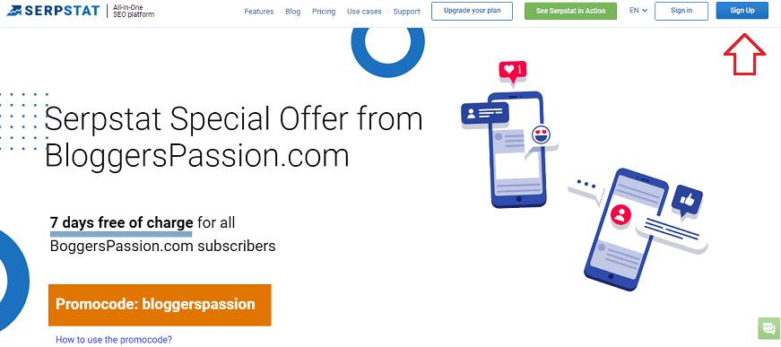 serpstat offer