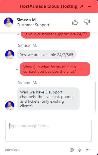 HostArmada support