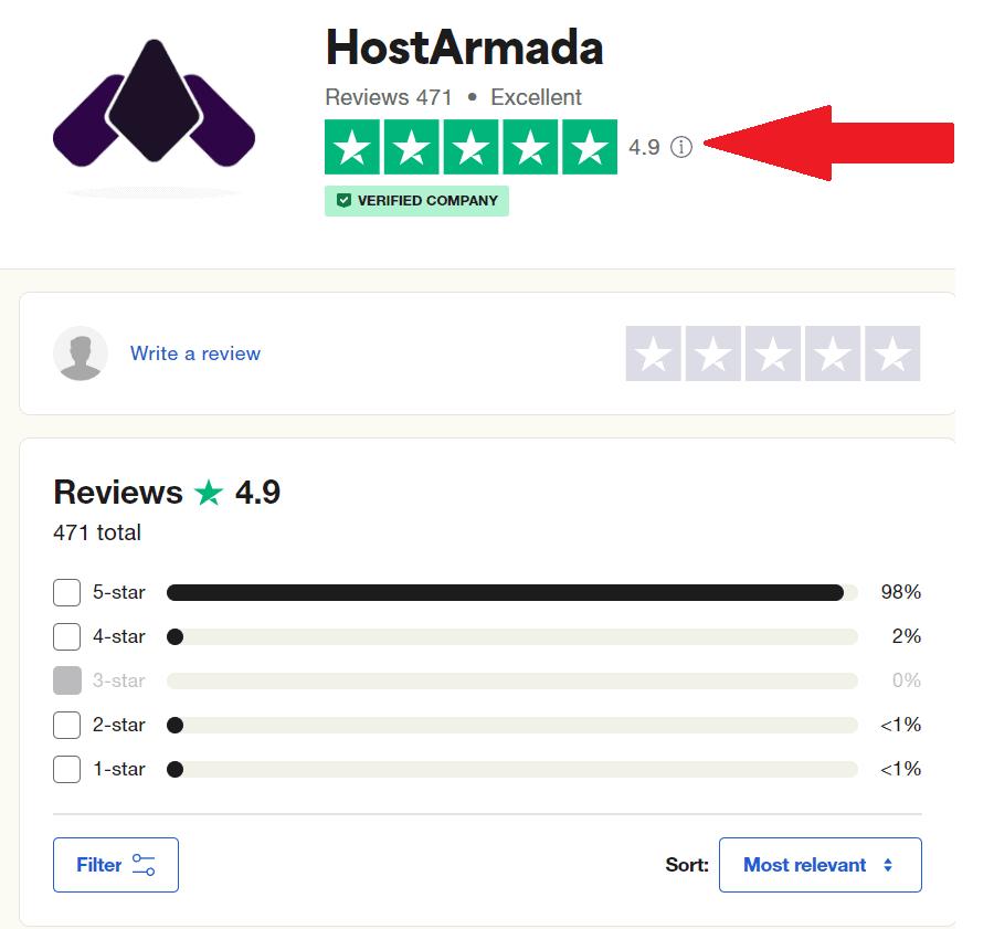 hostarmada reviews