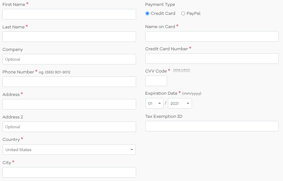 hostgator billing information