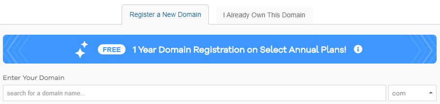 hostgator domain name