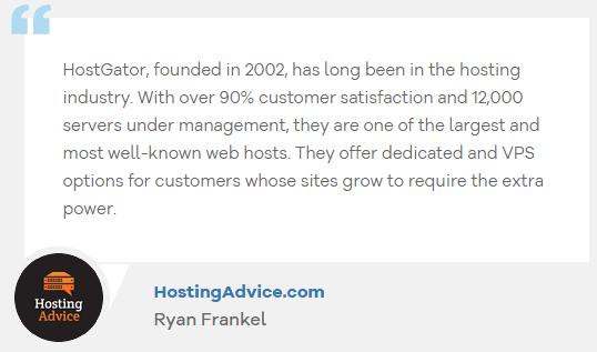 hostgator hosting advice review