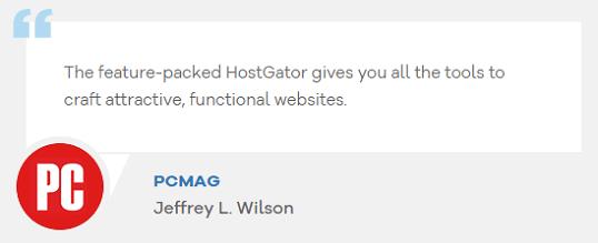 hostgator pc mag review