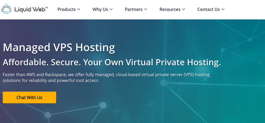 Liquid Web virtual private server