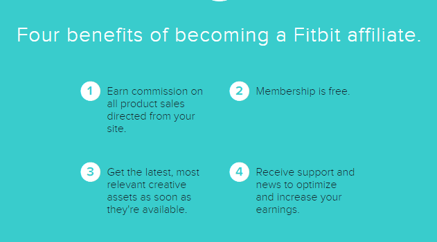 fitbit affiliate