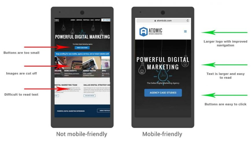 mobile first example