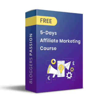 Affiliate Marketing Course by Bloggerspassion