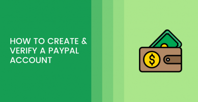 how to create & verify paypal account