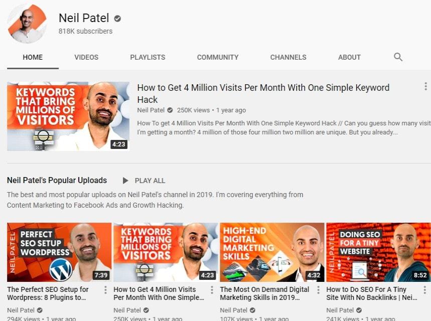 neil youtube