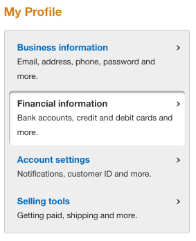 paypal account financial information