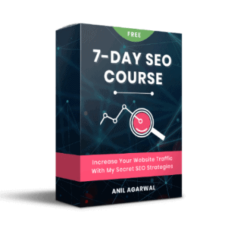 Free 7 Days SEO Course by Bloggerspassion