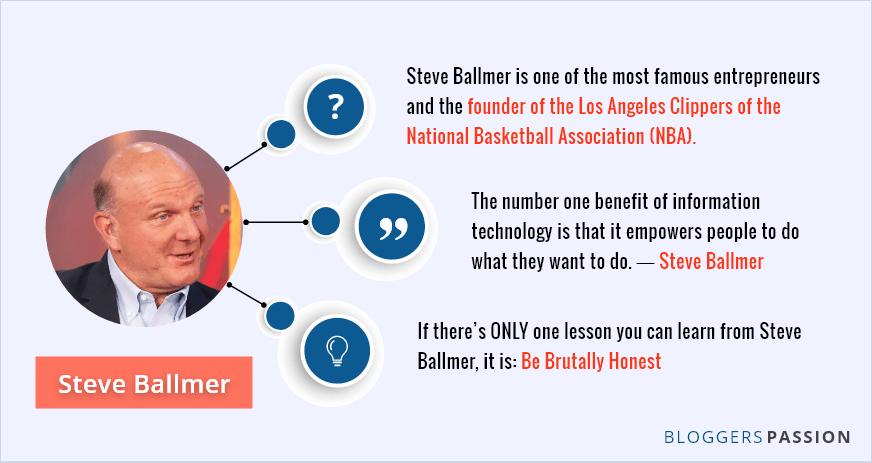 who is steve ballmer