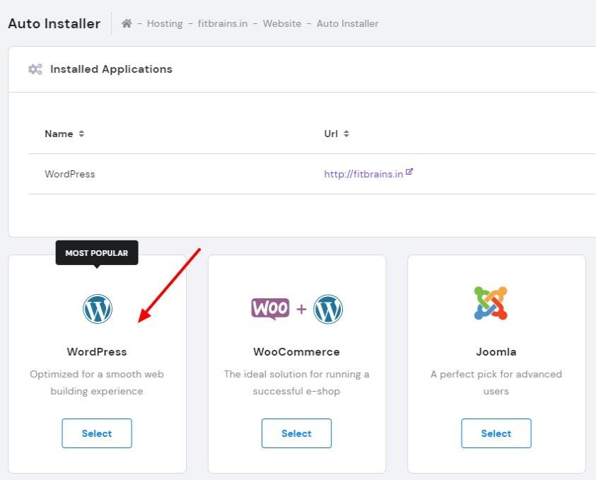 wordpress hostinger
