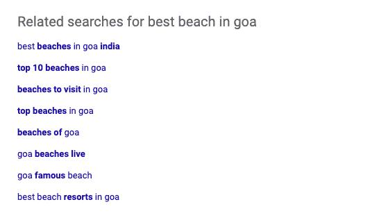 bing searches