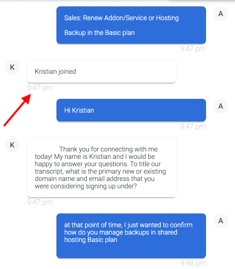 bluehost chat support