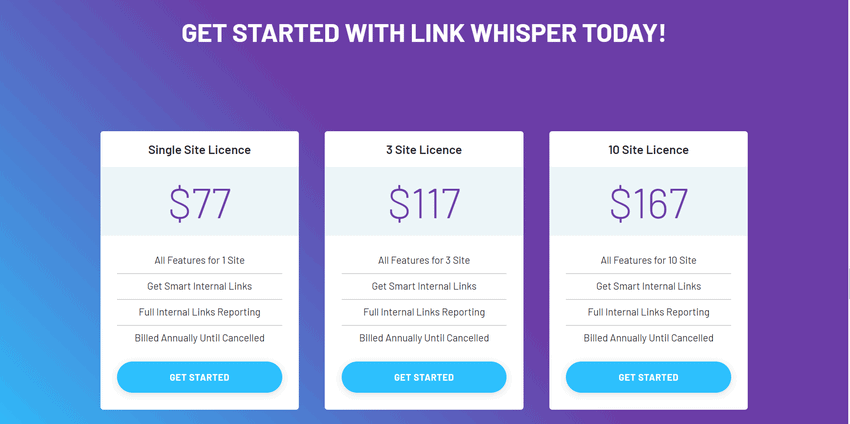 link whisper pricing