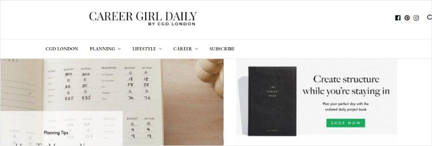 Career Girl Daily Blog