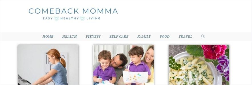 Come Back Momma Blog