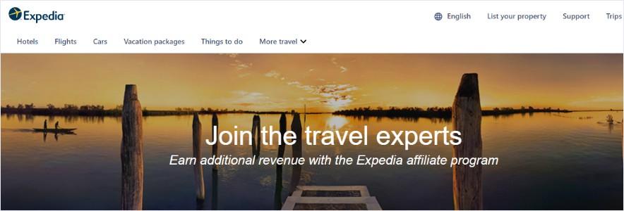 Expedia affiliate program