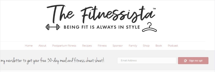 Fitnessista blog