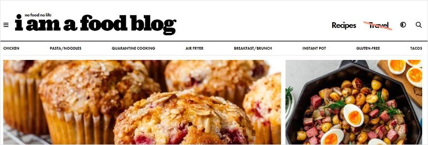 I am a food blog