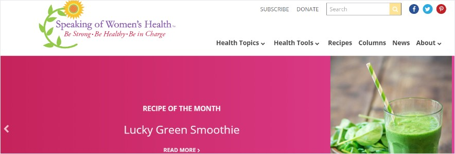 Speaking of Women's Health Blog