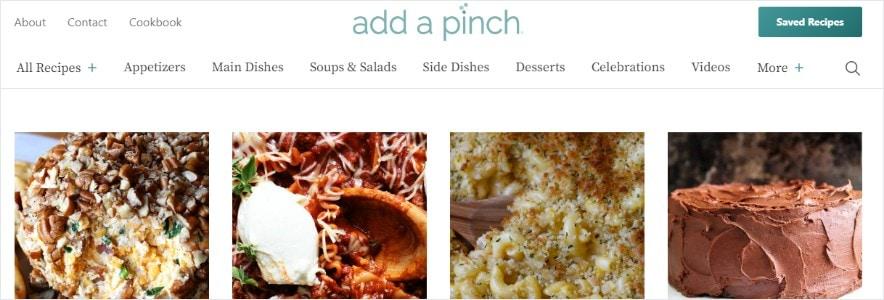 add a pinch blog