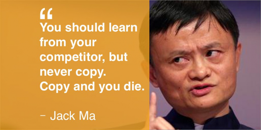 jack ma competitors quotes