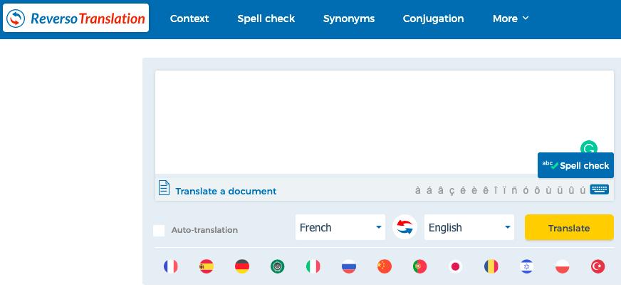 reverso translation