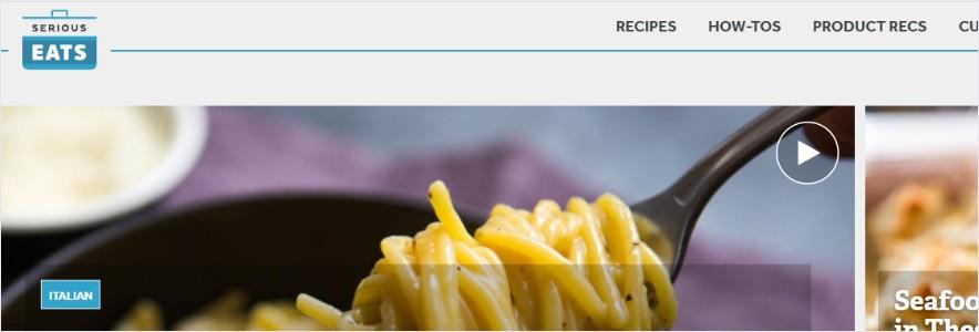 serious eats blog